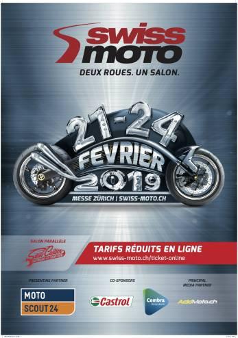 Expo Swiss-Moto 2019 :: 21-24 février 2019 :: Agenda :: ActuMoto.ch