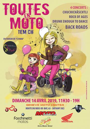 Toutes en Moto Genève 2019 :: 14 avril 2019 :: Agenda :: ActuMoto.ch