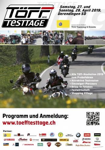 Les Toefftesttage 2019 :: 27-28 avril 2019 :: Agenda :: ActuMoto.ch