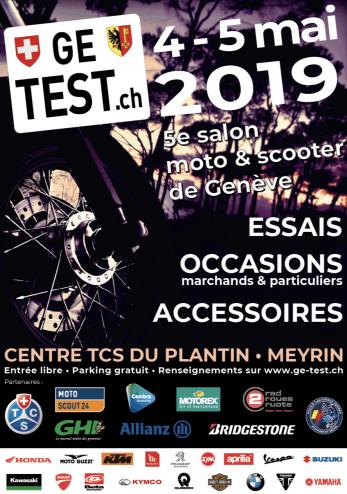 GE Tests motos et scooters :: 04-05 mai 2019 :: Agenda :: ActuMoto.ch