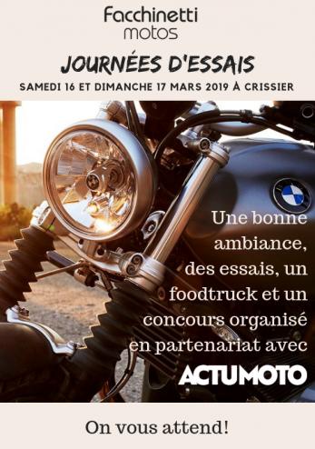 Portes ouvertes BMW et concours ActuMoto :: 16-17 mars 2019 :: Agenda :: ActuMoto.ch