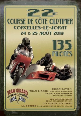 Montée oldtimers de Corcelles-le-Jorat :: 24-25 août 2019 :: Agenda :: ActuMoto.ch