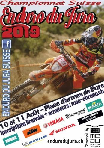 Enduro du Jura :: 10-11 août 2019 :: Agenda :: ActuMoto.ch