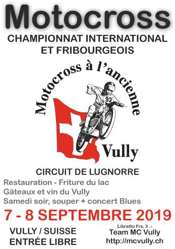 Motocross à l'ancienne à Lugnorre :: 07-08 septembre 2019 :: Agenda :: ActuMoto.ch