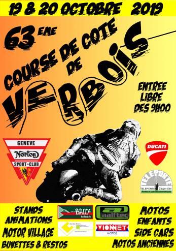 Course de côte de Verbois :: 19-20 octobre 2019 :: Agenda :: ActuMoto.ch