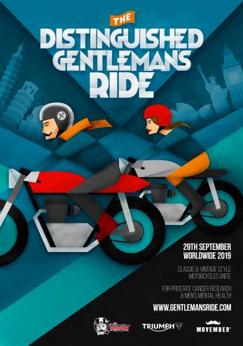 Distinguished Gentleman's Ride :: 29 septembre 2019 :: Agenda :: ActuMoto.ch