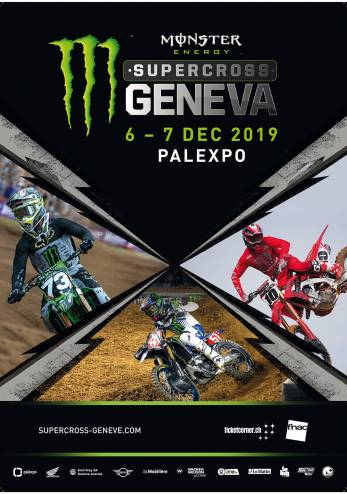 Monster Energy Geneva Supercross :: 06-07 décembre 2019 :: Agenda :: ActuMoto.ch