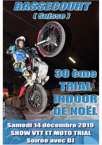 Trial de Noël, Bassecourt :: 14 décembre 2019 :: Agenda :: ActuMoto.ch