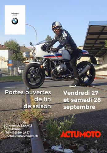 Portes ouvertes BMW Crissier :: 27-28 septembre 2019 :: Agenda :: ActuMoto.ch