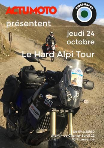 Le Hard Alpi Tour en 24 heures :: 24 octobre 2019 :: Agenda :: ActuMoto.ch