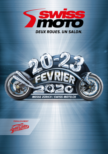 Swiss-Moto et Swiss-Custom 2020 :: 20-23 février 2020 :: Agenda :: ActuMoto.ch