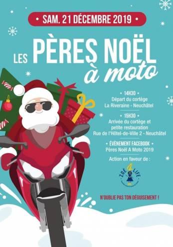 Pères Noël à moto :: 21 décembre 2019 :: Agenda :: ActuMoto.ch