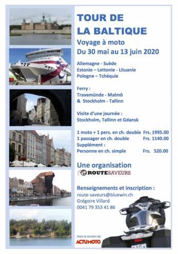 Tour de la Baltique :: 30 mai - 13 juin 2020 :: Agenda :: ActuMoto.ch