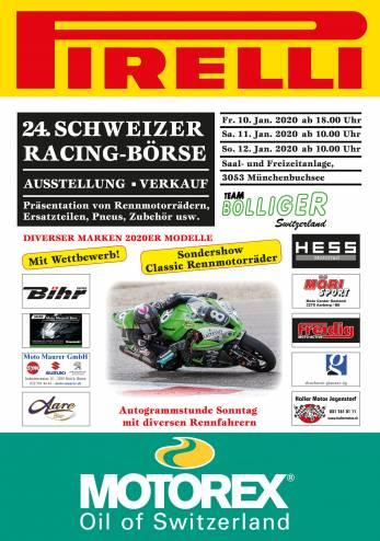 Bourse Racing chez Bolliger :: 10-12 janvier 2020 :: Agenda :: ActuMoto.ch