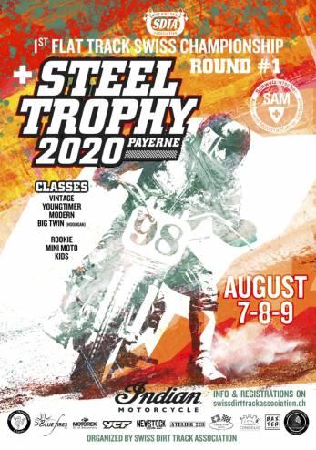 Steel Trophy#1 (Flat Track) :: 07-09 août 2020 :: Agenda :: ActuMoto.ch