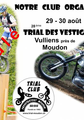 Trial des Vestiges :: 29-30 août 2020 :: Agenda :: ActuMoto.ch