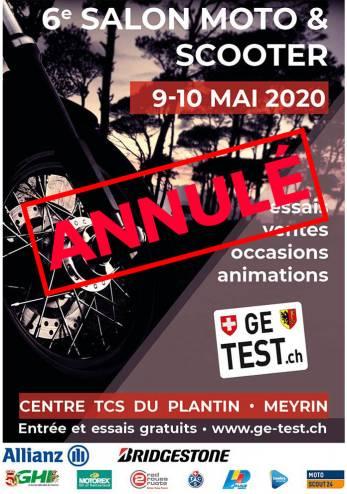 Ge tests motos et scooters (annulé) :: 09-10 mai 2020 :: Agenda :: ActuMoto.ch