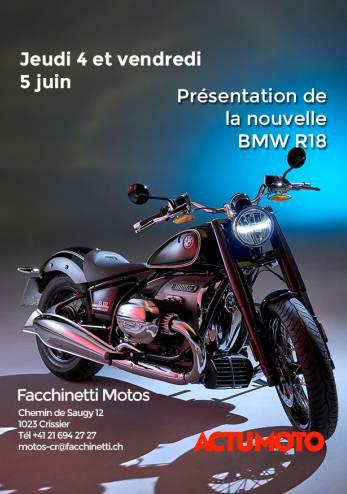 Roadshow BMW R18 :: 04-05 juin 2020 :: Agenda :: ActuMoto.ch