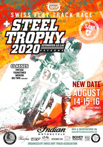 Steel Trophy (Flat Track) :: 14-16 août 2020 :: Agenda :: ActuMoto.ch