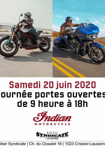 Portes ouvertes Biker Syndicate :: 20 juin 2020 :: Agenda :: ActuMoto.ch