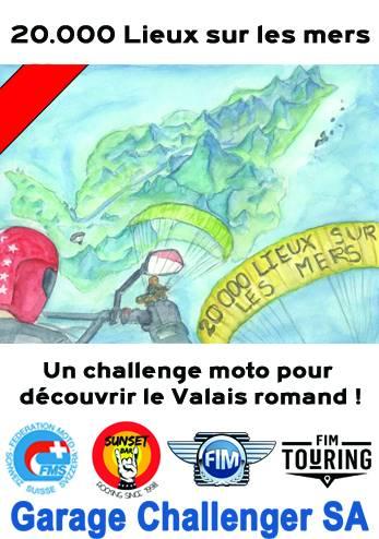 Rallye 20000 Lieux sur les mers :: 12-13 septembre 2020 :: Agenda :: ActuMoto.ch