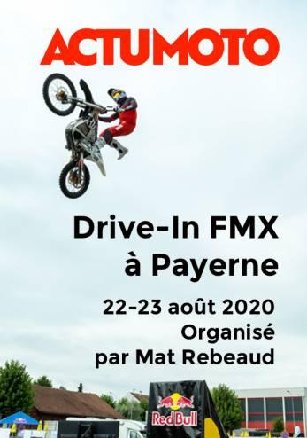 Drive-in pour un show de FMX :: 22-23 août 2020 :: Agenda :: ActuMoto.ch