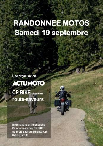 Balade ActuMoto :: 19 septembre 2020 :: Agenda :: ActuMoto.ch