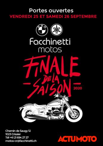 Portes ouvertes Facchinetti Crissier :: 25-26 septembre 2020 :: Agenda :: ActuMoto.ch