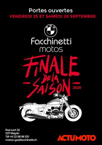 Portes ouvertes Facchinetti Meyrin :: 25-26 septembre 2020 :: Agenda :: ActuMoto.ch