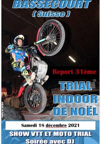 Trial Indoor Bassecourt (annulé) :: 18 décembre 2020 :: Agenda :: ActuMoto.ch
