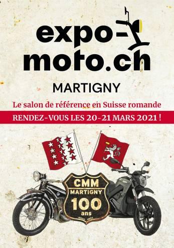 Expo-Moto Martigny :: 20-21 mars 2021 :: Agenda :: ActuMoto.ch