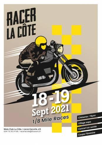 Racer La Côte 2021 :: 18-19 septembre 2021 :: Agenda :: ActuMoto.ch