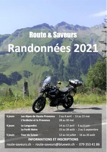 Randonnée moto en Haute Provence :: 13-15 mai 2021 :: Agenda :: ActuMoto.ch