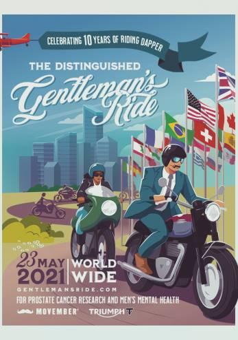 Distinguished Gentleman's Ride 2021 :: 23 mai 2021 :: Agenda :: ActuMoto.ch