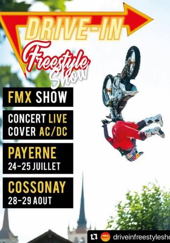 Drive-In Freestyle avec Mat Rebeaud :: 24-25 juillet 2021 :: Agenda :: ActuMoto.ch