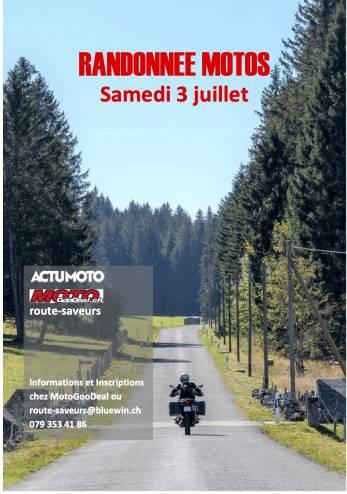 Balade ActuMoto :: 03 juillet 2021 :: Agenda :: ActuMoto.ch