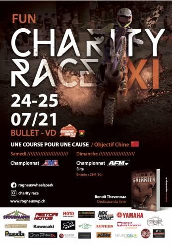 11ème Charity race à Bullet :: 24-25 juillet 2021 :: Agenda :: ActuMoto.ch
