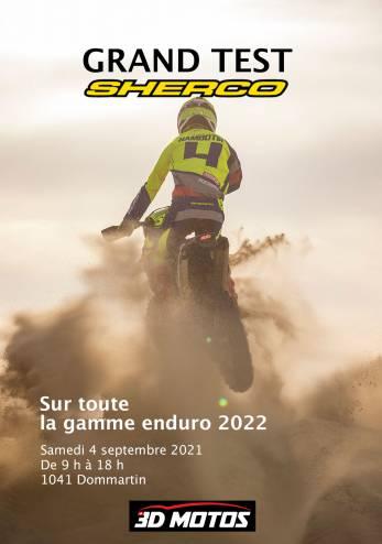 Journée d'essais Sherco :: 04 septembre 2021 :: Agenda :: ActuMoto.ch