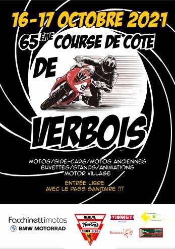 Course de Côte de Verbois :: 16-17 octobre 2021 :: Agenda :: ActuMoto.ch